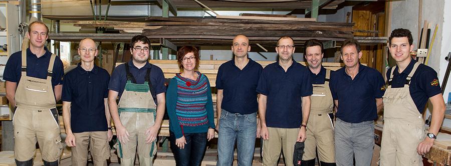 Tischlerei Wansch - Team